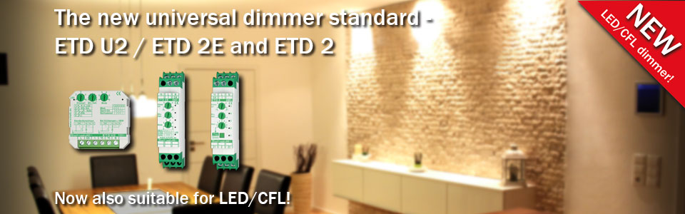 Universal dimmers ETD U2 / ETD 2E and ETD 2